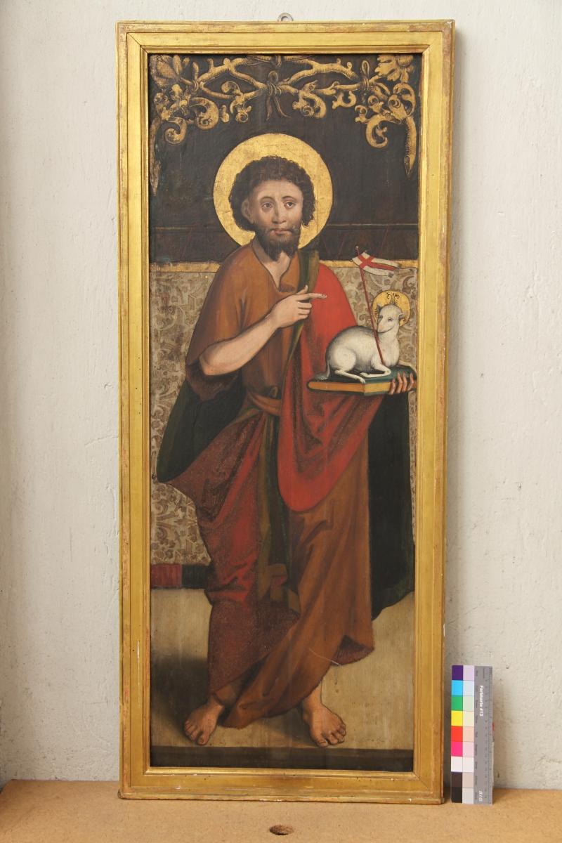 Gesamtaufnahme: Johannes der Täufer