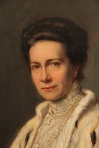 """""""Victoria von Baden, Königin von Schweden"""", Otto Propheter, 1906"""
