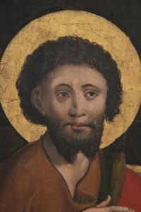 Hl. Johannes der Täufer. Eine Tafel von acht gotischen Tafelbildern, Konstanzer Meister, 1510/15