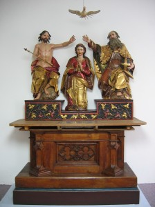 Altar, Marienkrönung, 17. Jh.